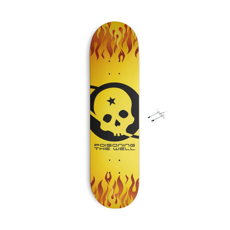 Current Year: A Space Odyssey Accessories With Hanging Hardware Skateboard by Poisoning the Well Swag Shop