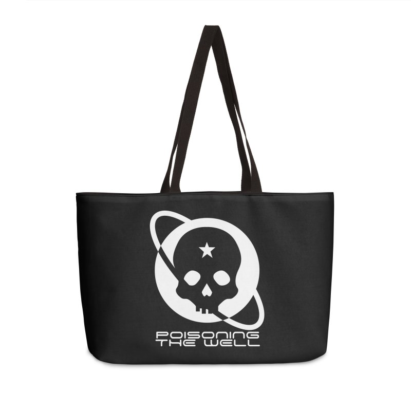 Current Year: A Space Odyssey (White) Accessories Weekender Bag Bag by Poisoning the Well Swag Shop