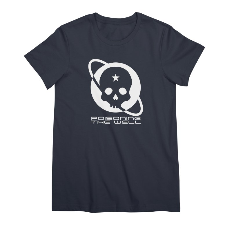 White Poisoning The Well 2019 Logo Women's Premium T-Shirt by Poisoning the Well Swag Shop