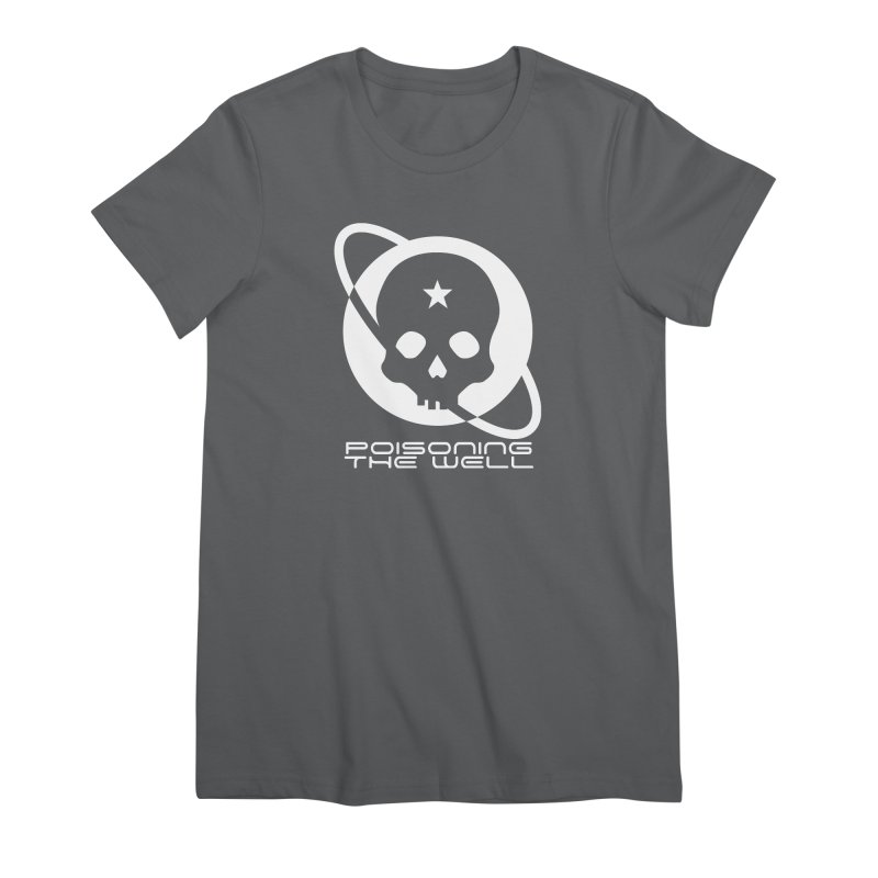 Current Year: A Space Odyssey (White) Women's Premium T-Shirt by Poisoning the Well Swag Shop