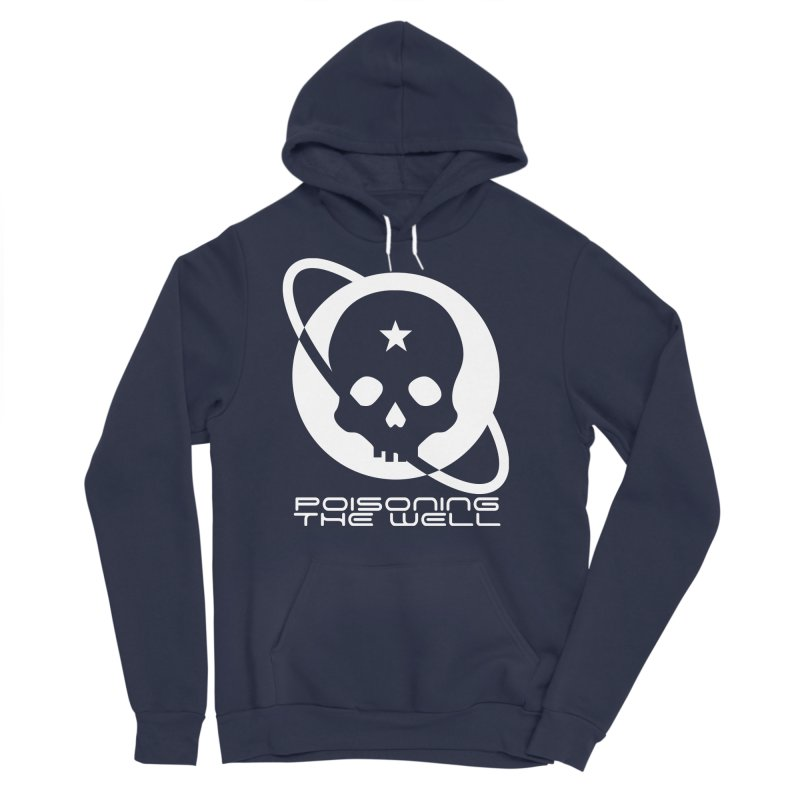 Current Year: A Space Odyssey (White) Men's Sponge Fleece Pullover Hoody by Poisoning the Well Swag Shop