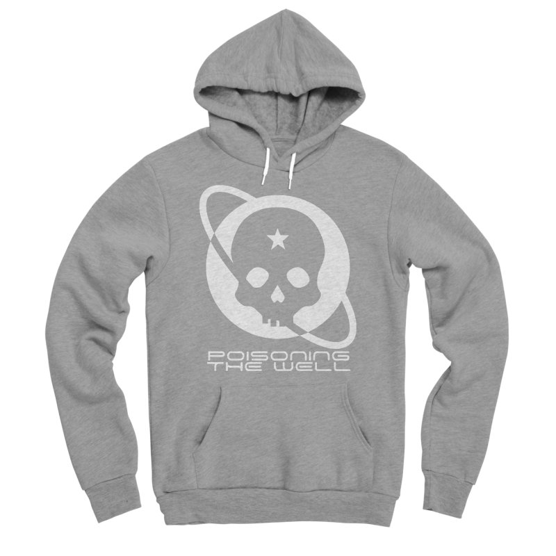 White Poisoning The Well 2019 Logo Women's Sponge Fleece Pullover Hoody by Poisoning the Well Swag Shop