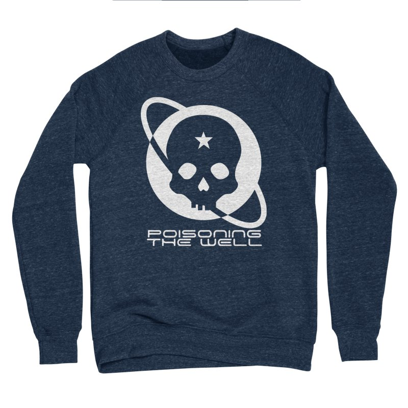 Current Year: A Space Odyssey (White) Women's Sponge Fleece Sweatshirt by Poisoning the Well Swag Shop
