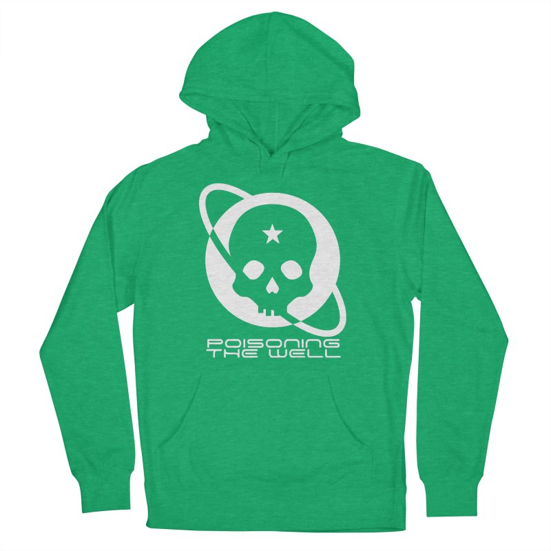Current Year: A Space Odyssey (White) Women's French Terry Pullover Hoody by Poisoning the Well Swag Shop