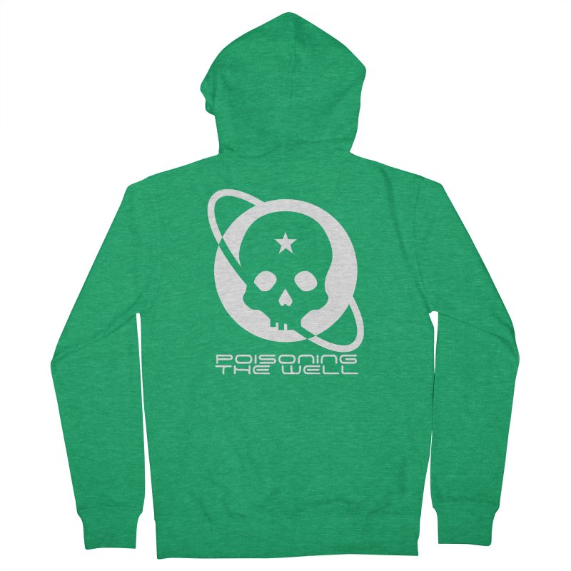 Current Year: A Space Odyssey (White) Men's French Terry Zip-Up Hoody by Poisoning the Well Swag Shop