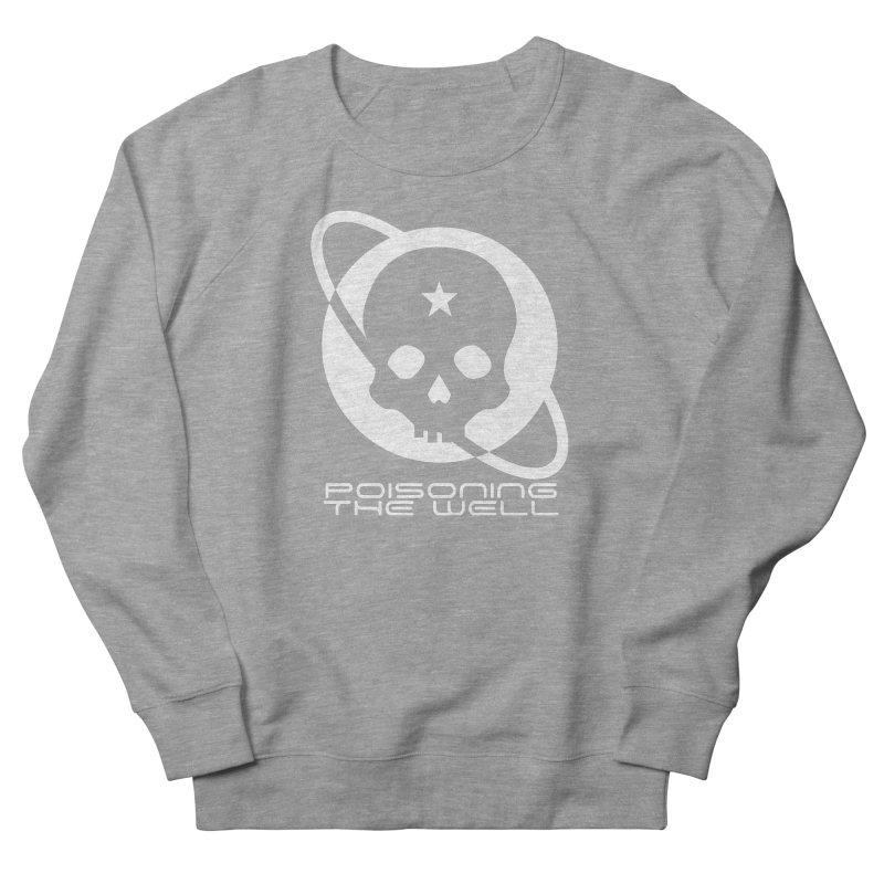 Current Year: A Space Odyssey (White) Women's French Terry Sweatshirt by Poisoning the Well Swag Shop