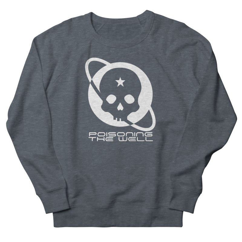 Current Year: A Space Odyssey (White) Men's French Terry Sweatshirt by Poisoning the Well Swag Shop
