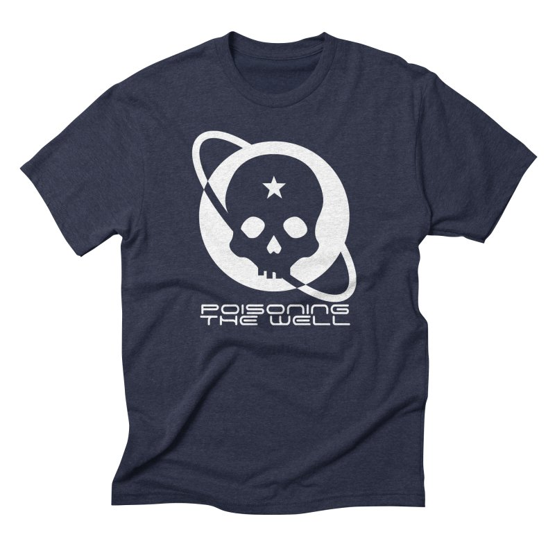 Current Year: A Space Odyssey (White) Men's Triblend T-Shirt by Poisoning the Well Swag Shop