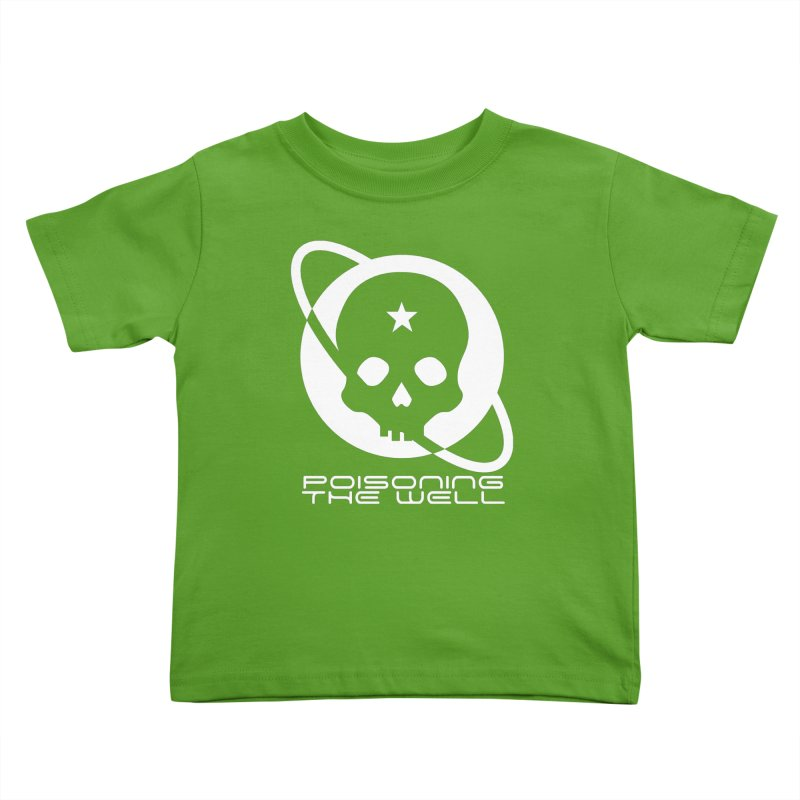 White Poisoning The Well 2019 Logo Kids Toddler T-Shirt by Poisoning the Well Swag Shop
