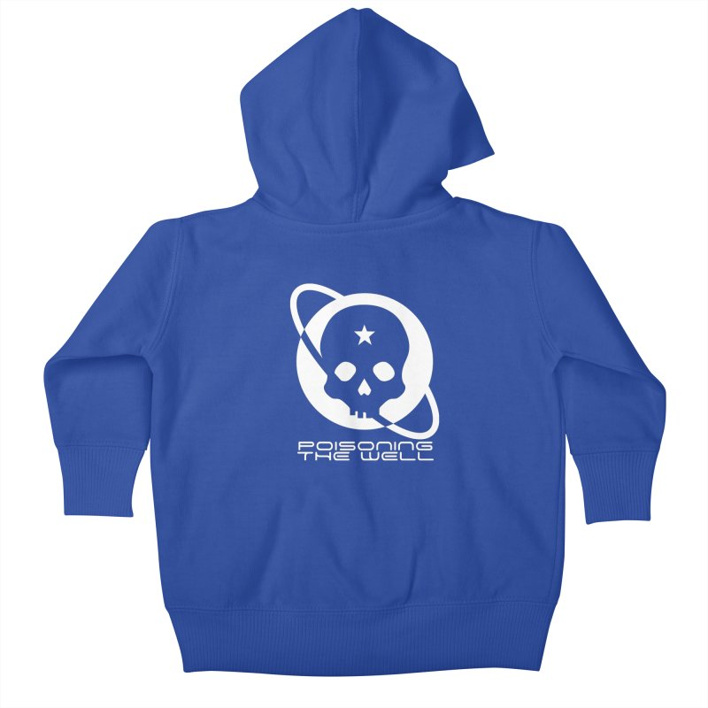 White Poisoning The Well 2019 Logo Kids Baby Zip-Up Hoody by Poisoning the Well Swag Shop