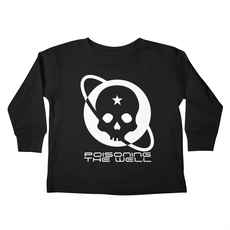 White Poisoning The Well 2019 Logo Kids Toddler Longsleeve T-Shirt by Poisoning the Well Swag Shop