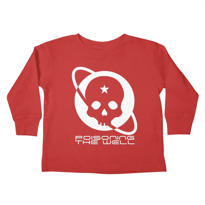 Current Year: A Space Odyssey (White) Kids Toddler Longsleeve T-Shirt by Poisoning the Well Swag Shop
