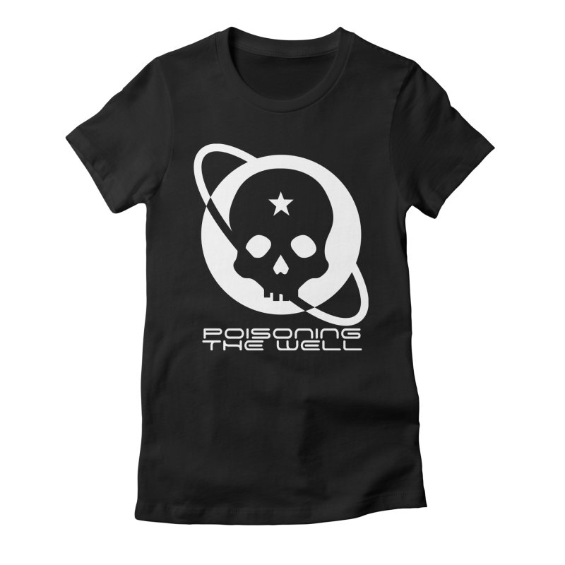 White Poisoning The Well 2019 Logo Women's Fitted T-Shirt by Poisoning the Well Swag Shop