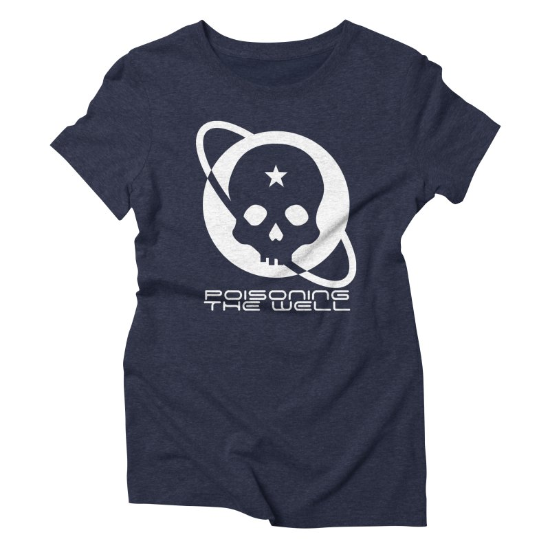 Current Year: A Space Odyssey (White) Women's Triblend T-Shirt by Poisoning the Well Swag Shop