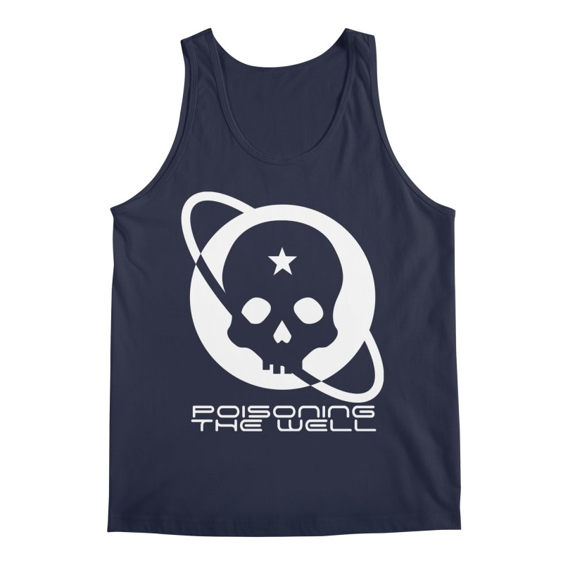 Current Year: A Space Odyssey (White) Men's Regular Tank by Poisoning the Well Swag Shop