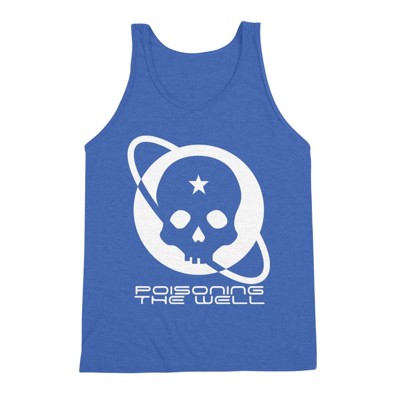Current Year: A Space Odyssey (White) Men's Triblend Tank by Poisoning the Well Swag Shop