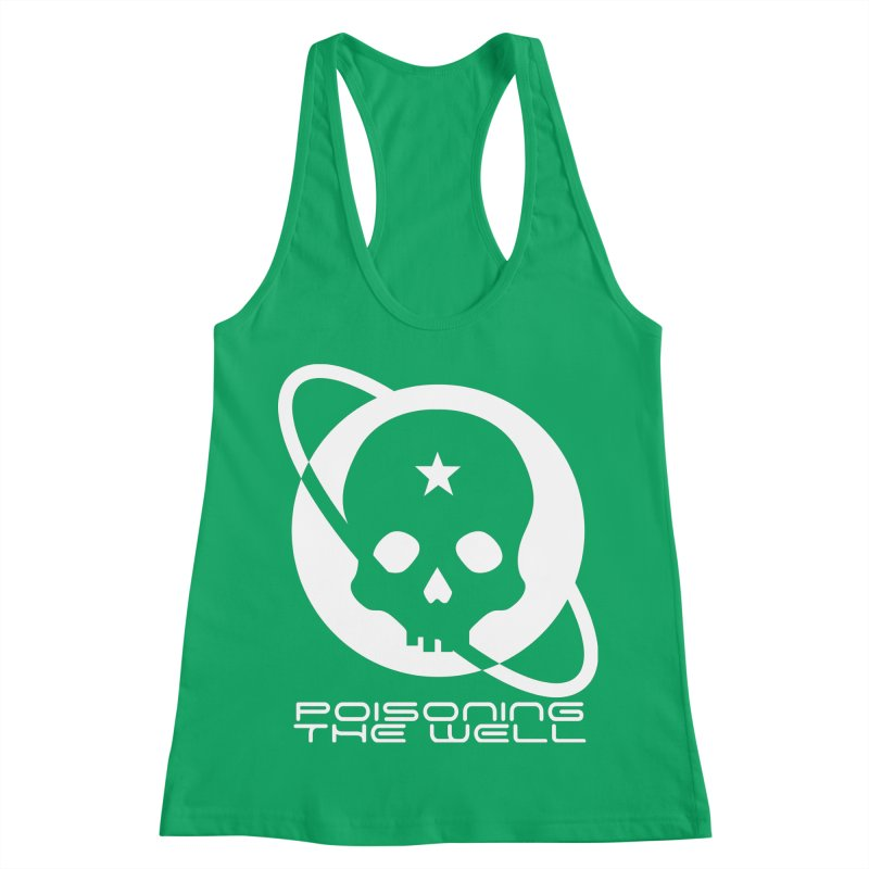 Current Year: A Space Odyssey (White) Women's Racerback Tank by Poisoning the Well Swag Shop