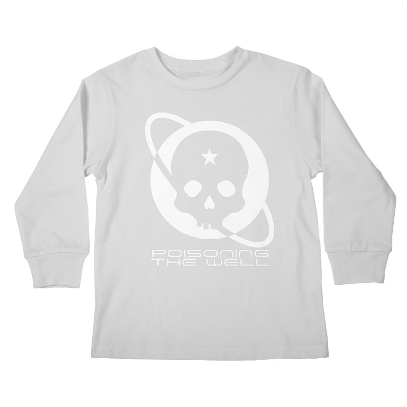 White Poisoning The Well 2019 Logo Kids Longsleeve T-Shirt by Poisoning the Well Swag Shop