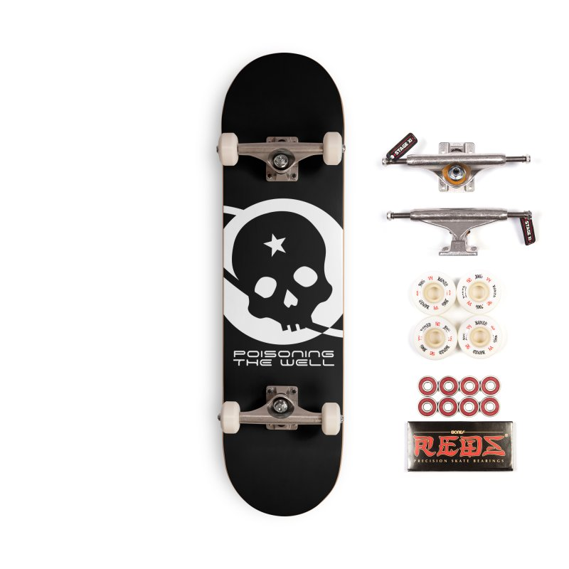 Current Year: A Space Odyssey (White) Accessories Complete - Pro Skateboard by Poisoning the Well Swag Shop