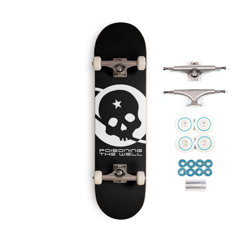 Current Year: A Space Odyssey (White) Accessories Complete - Basic Skateboard by Poisoning the Well Swag Shop