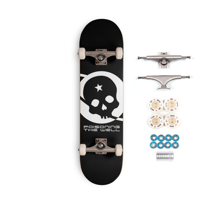 Current Year: A Space Odyssey (White) Accessories Complete - Premium Skateboard by Poisoning the Well Swag Shop