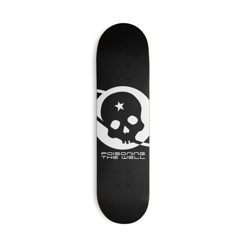 Current Year: A Space Odyssey (White) Accessories Deck Only Skateboard by Poisoning the Well Swag Shop