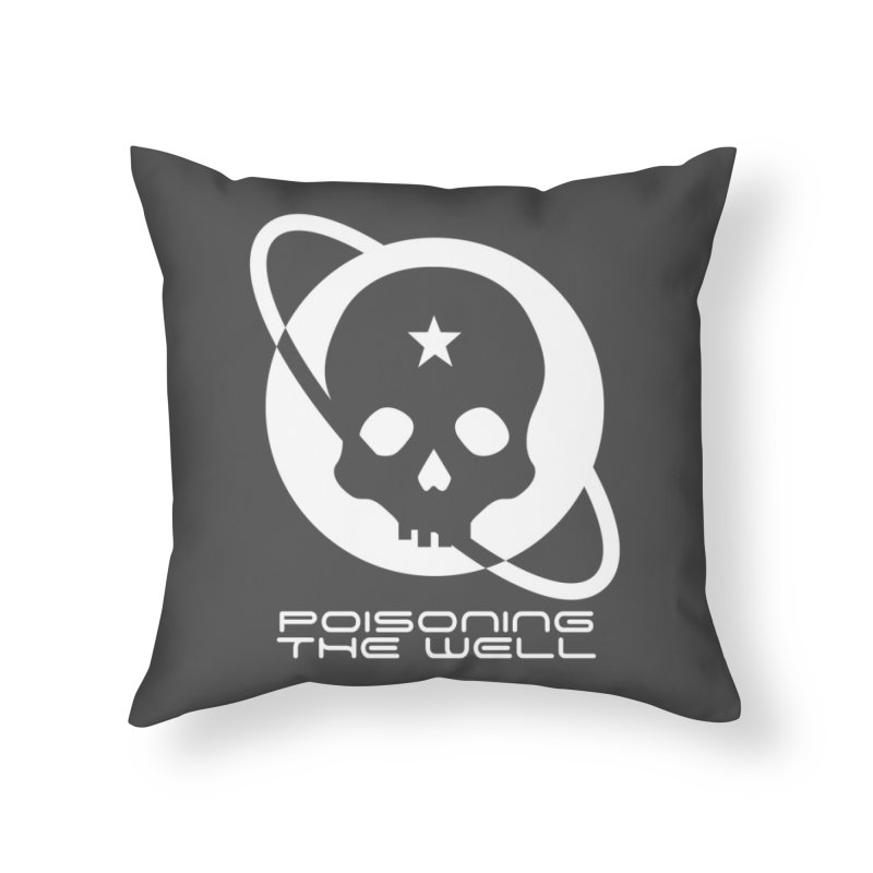 White Poisoning The Well 2019 Logo Home Throw Pillow by Poisoning the Well Swag Shop