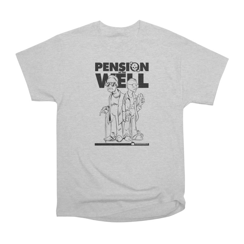 Pension in the Well Women's Heavyweight Unisex T-Shirt by Poisoning the Well Swag Shop