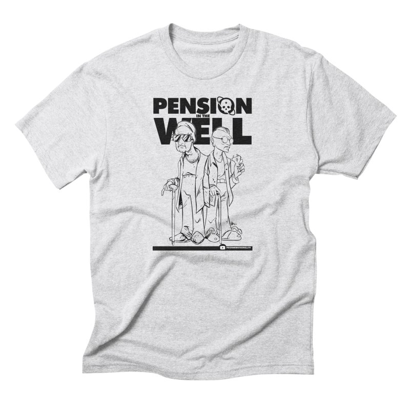 Pension in the Well Men's Triblend T-Shirt by Poisoning the Well Swag Shop