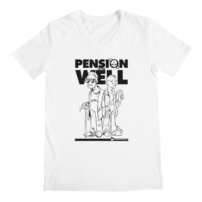 Pension in the Well Men's Regular V-Neck by Poisoning the Well Swag Shop