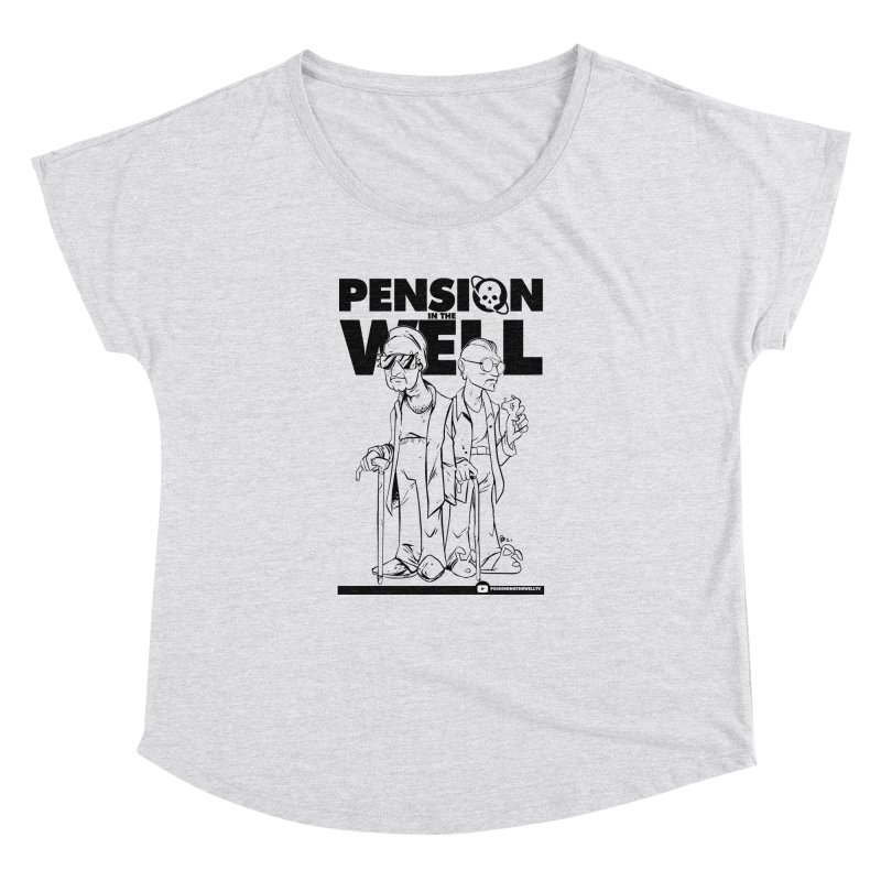 Pension in the Well Women's Dolman Scoop Neck by Poisoning the Well Swag Shop