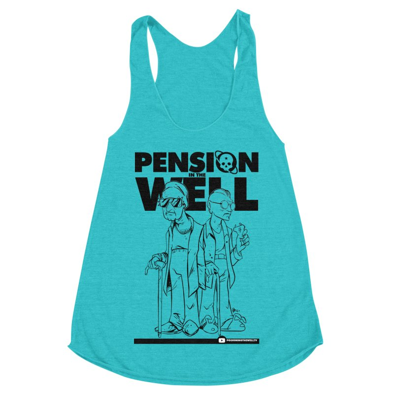 Pension in the Well Women's Racerback Triblend Tank by Poisoning the Well Swag Shop