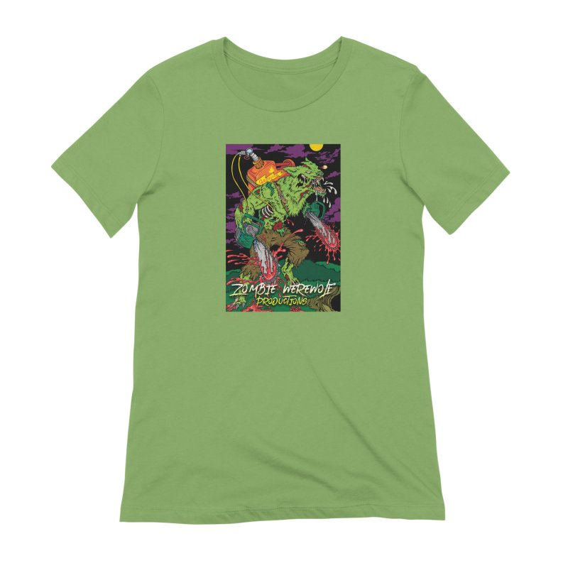 The Zombie Werewolf Women's Extra Soft T-Shirt by Poisoning the Well Swag Shop