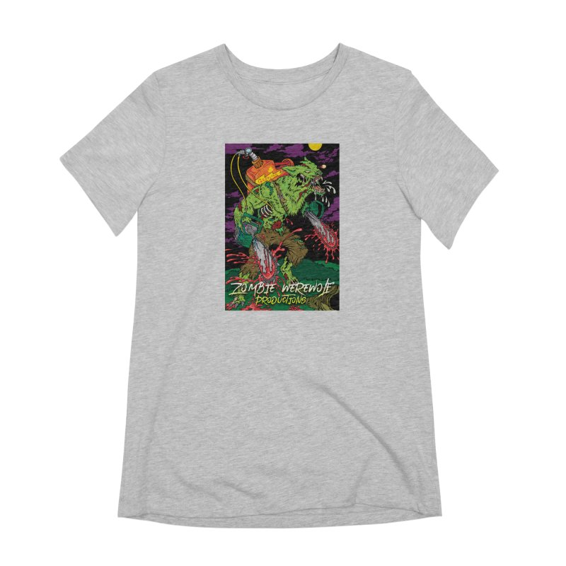 Zombie Werewolf Productions Women's Extra Soft T-Shirt by Poisoning the Well Swag Shop