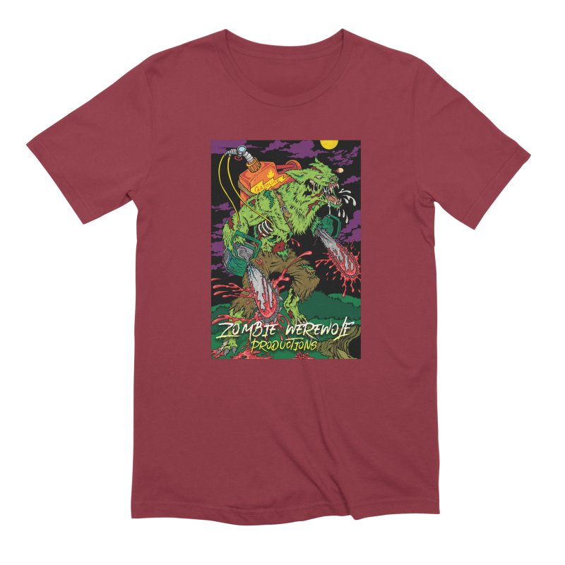 Zombie Werewolf Productions Men's Extra Soft T-Shirt by Poisoning the Well Swag Shop