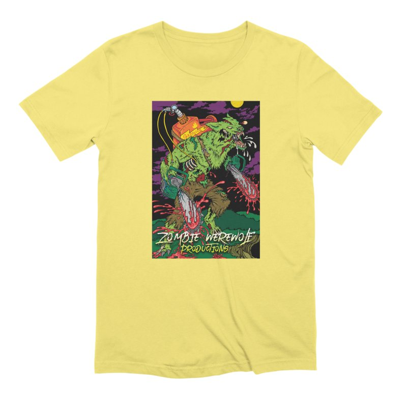 The Zombie Werewolf Men's Extra Soft T-Shirt by Poisoning the Well Swag Shop