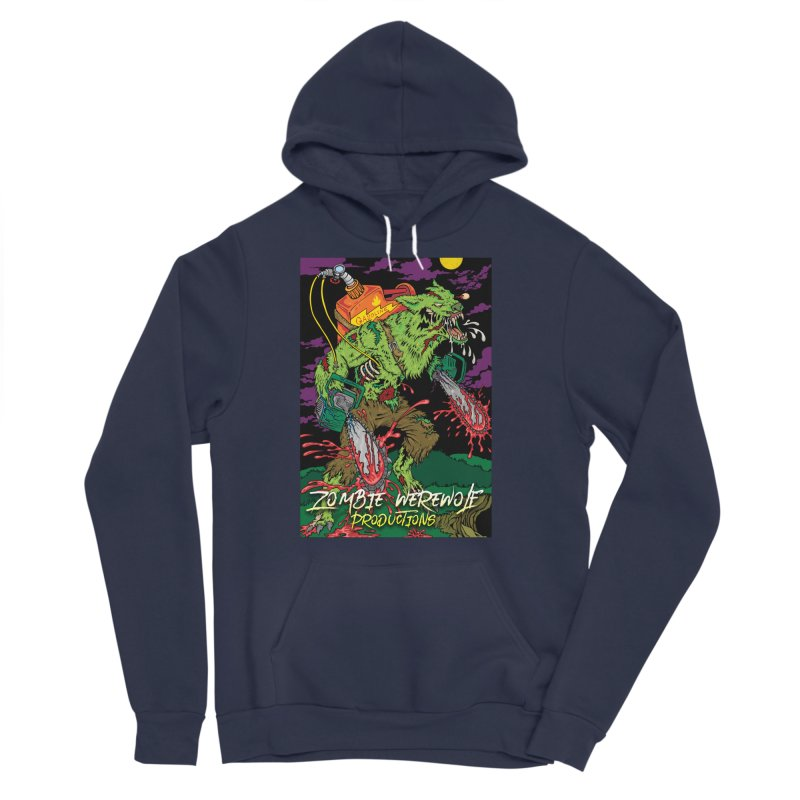 The Zombie Werewolf Men's Sponge Fleece Pullover Hoody by Poisoning the Well Swag Shop