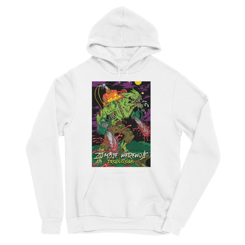 Zombie Werewolf Productions Women's Sponge Fleece Pullover Hoody by Poisoning the Well Swag Shop