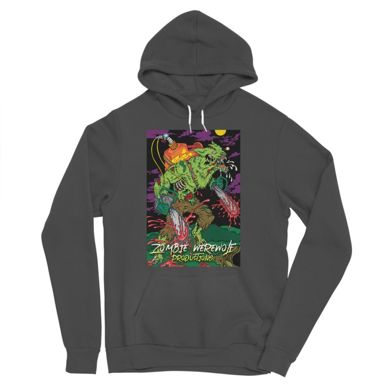 The Zombie Werewolf Women's Sponge Fleece Pullover Hoody by Poisoning the Well Swag Shop