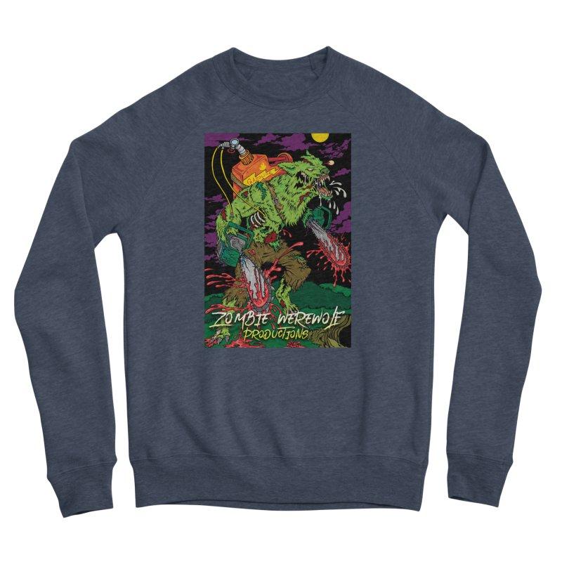 The Zombie Werewolf Women's Sponge Fleece Sweatshirt by Poisoning the Well Swag Shop
