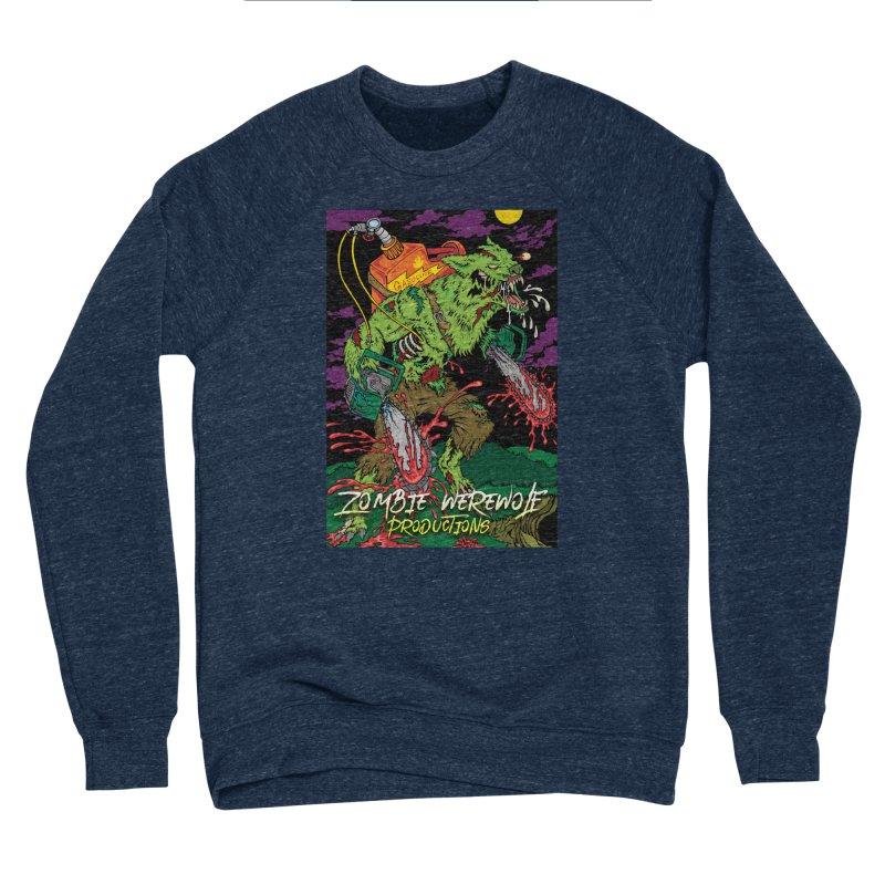 Zombie Werewolf Productions Men's Sponge Fleece Sweatshirt by Poisoning the Well Swag Shop