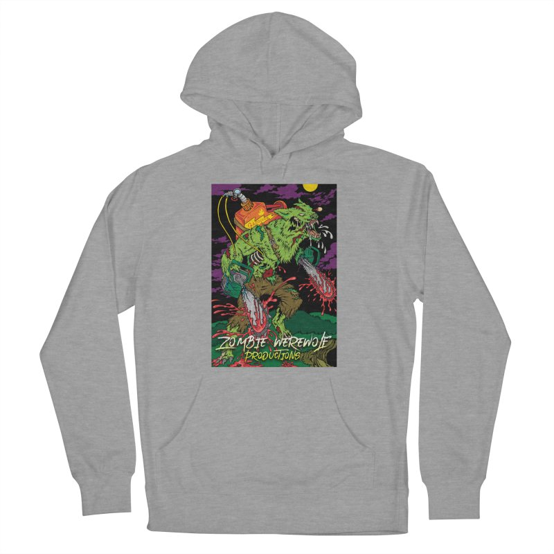 The Zombie Werewolf Women's French Terry Pullover Hoody by Poisoning the Well Swag Shop