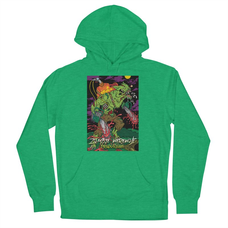 The Zombie Werewolf Men's French Terry Pullover Hoody by Poisoning the Well Swag Shop