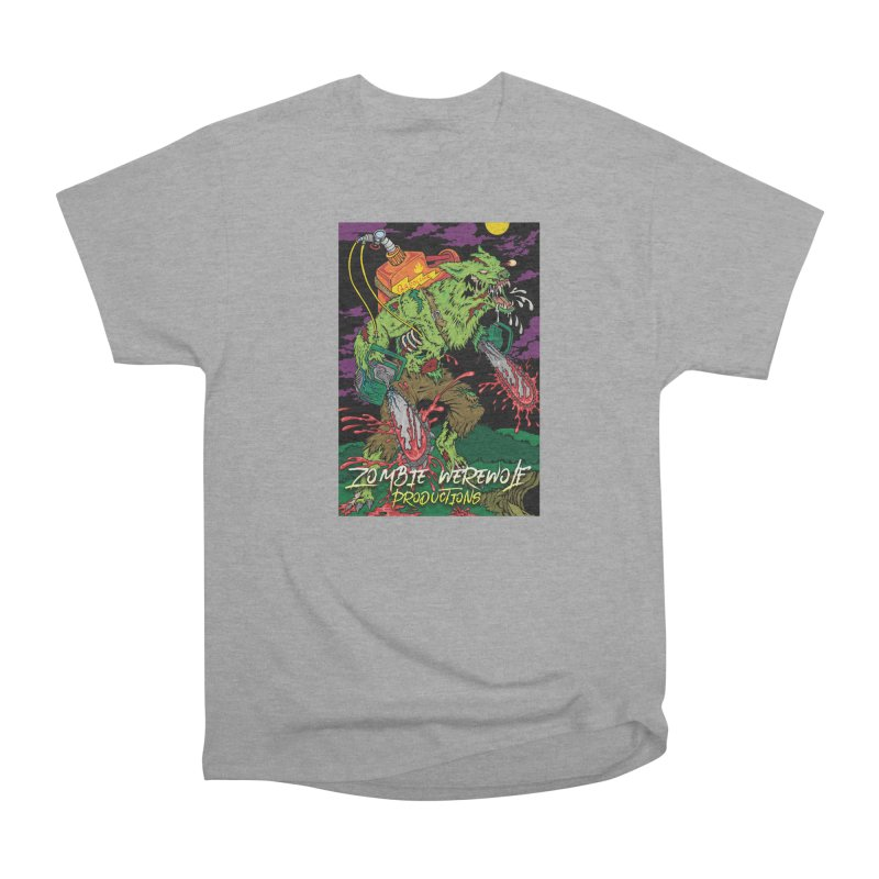 The Zombie Werewolf Men's Heavyweight T-Shirt by Poisoning the Well Swag Shop