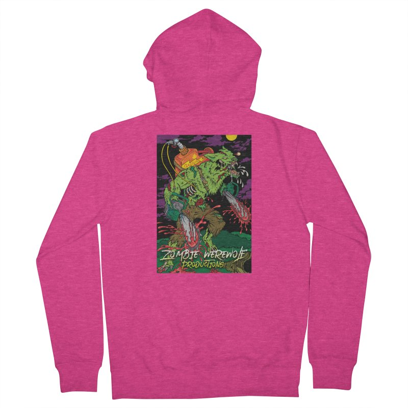 Zombie Werewolf Productions Women's French Terry Zip-Up Hoody by Poisoning the Well Swag Shop