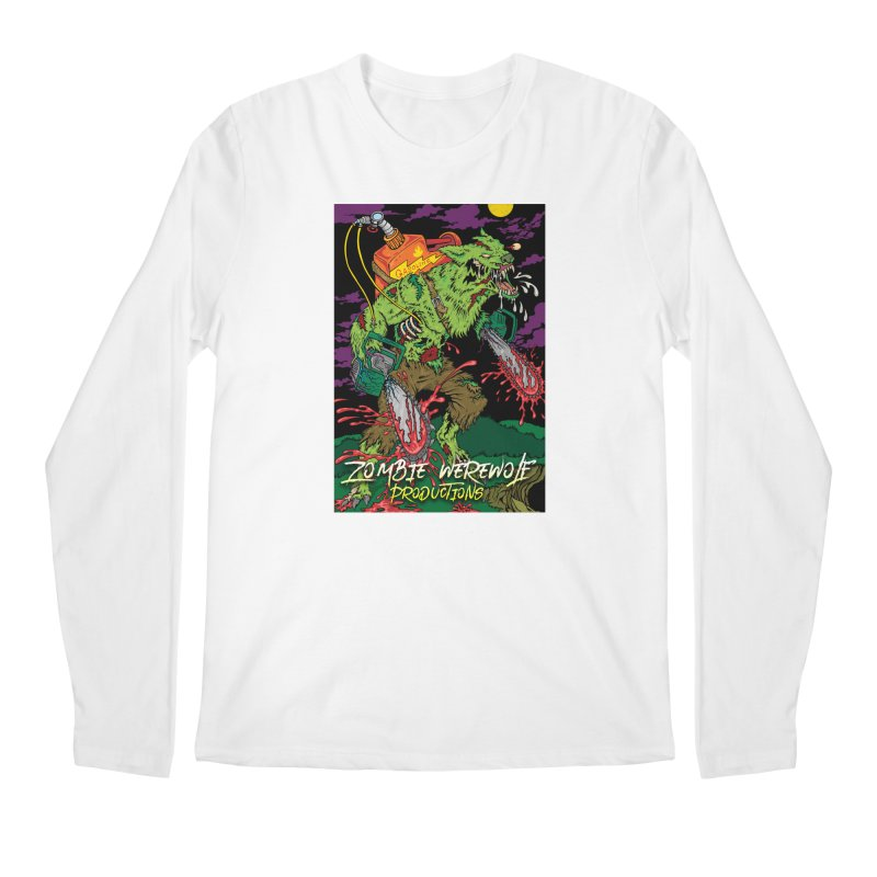 The Zombie Werewolf Men's Regular Longsleeve T-Shirt by Poisoning the Well Swag Shop