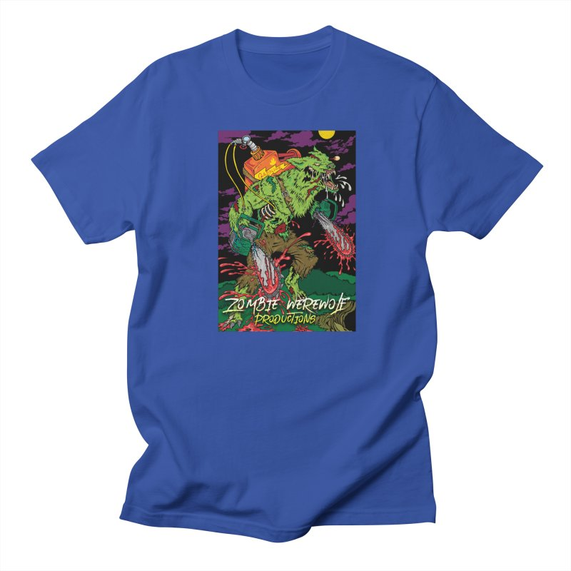 The Zombie Werewolf Women's Regular Unisex T-Shirt by Poisoning the Well Swag Shop