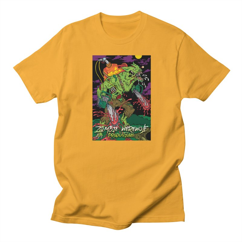 Zombie Werewolf Productions Women's Regular Unisex T-Shirt by Poisoning the Well Swag Shop