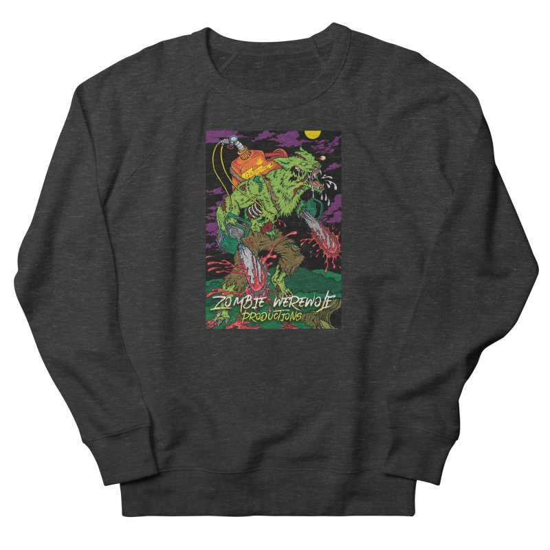 The Zombie Werewolf Women's French Terry Sweatshirt by Poisoning the Well Swag Shop