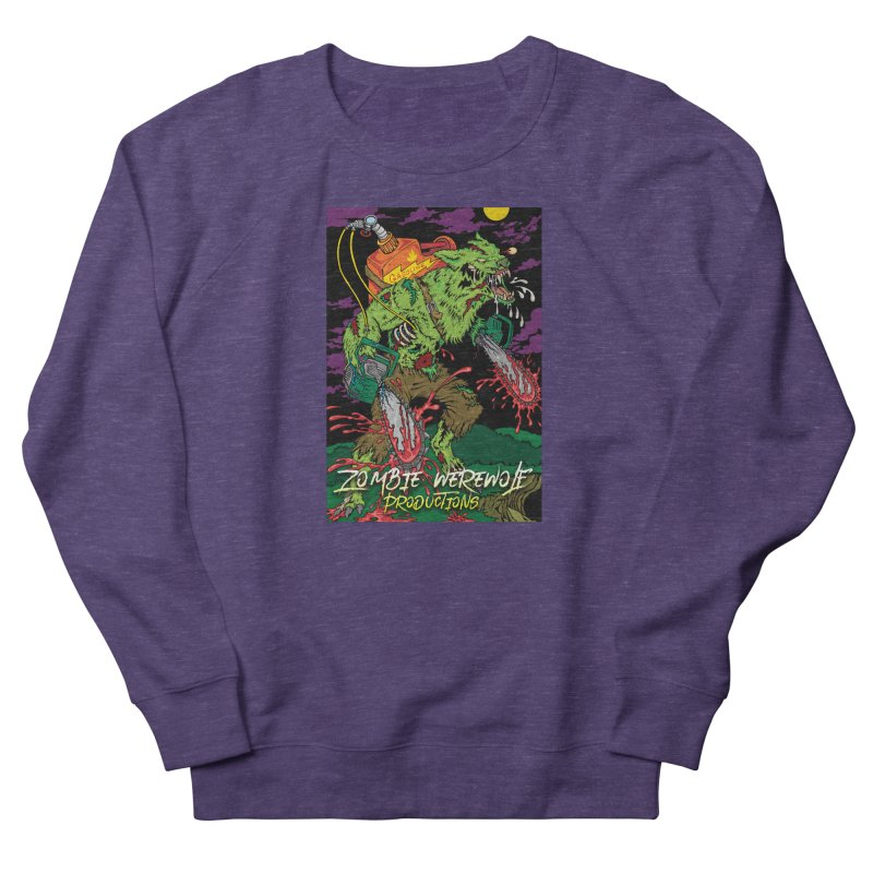 Zombie Werewolf Productions Women's French Terry Sweatshirt by Poisoning the Well Swag Shop